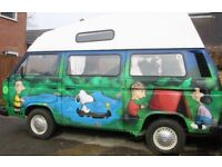 1984 T25 HI-TOP VW CAMPERVAN FOR SALE - with unique livery