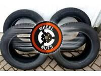 4x Excellent premium tyres 205/60×16.