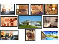 ORLANDO FLORIDA - 4 BEDROOM DISNEY AREA VILLA, SLEEPS 8, KISSIMMEE BASS LAKES