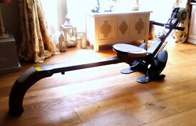 Rowing machine and gym .