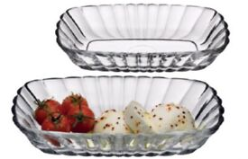 Pasabahce mezze 2 bowl s for serving