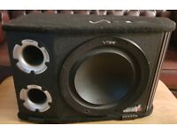 CAR ACTIVE SUBWOOFER VIBE 1200 WATT 12 INCH BASS BOX WITH BUILD IN AMPLIFIER SUB WOOFER AMP
