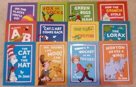 12 Dr Seuss books, excellent condition