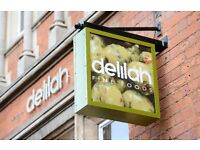 Full and Part time Front of House Positions, Delilah Fine Foods, Nottingham