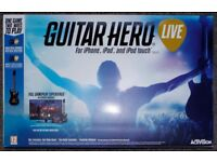 *BNIB* GUITAR HERO LIVE FOR IPHONE, IPAD AND IPOD TOUCH.