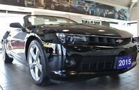 2015 Chevrolet Camaro LT 2LT***leather convertible***