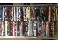 92 x assorted DVDs