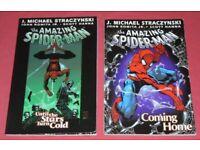 2 'The Amazing Spider Man' Softback Graphic Novels