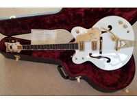 GRETSCH WHITE FALCON G6136DC Outstanding Example Mint Condition