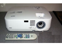 NEC HD PROJECTOR - MODEL NUMBER NP510