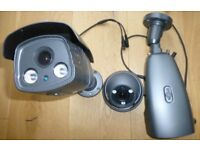 External day and night CCTV security cameras