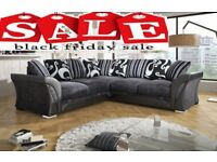 50% off black friday sale Brand new DFS fabric sofa 3+2 or corner and matching cuddle chair