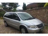 Chrysler Grand Voyager 2.5 Crd Diesel 7 Seater Luxury Carrier Rare Manual Gearbox