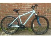 Aluminium frame lightweight bike