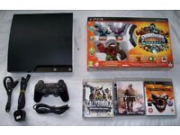 PS3 playstation 3 slim with 640gb hard drive, controller and games!!!