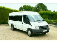 City travel minibus hire with driver