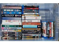 VARIOUS DVDS & TV BOXSETS. CAR BOOT SALE PRICES.