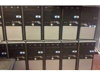 WINDOWS 7 PRO FAST TOWER COMPUTER INTEL i5 @ 3,00GHz 4GB DDR3 320GB