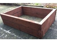 MINI-SLEEPER PLANTING RAISED BED. HEIGHTS 122mm or 244mm from £ 25