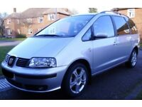 7 independent seats. Fantastic for 3+ kids - Top of the range SEAT Alhambra 2.0TDi PD Stylance ('06)