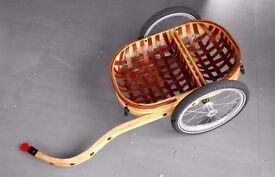 Wooden bike trailer - Carry Freedom