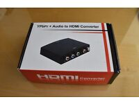 Maplin RGB and stereo phono to HDMI Converter