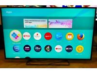 """50"""" 4K ULTRA HD PANASONIC SMART TV CAN DELIVER."""