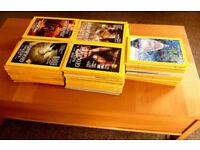 82 x National Geographic Magazines 1985 -2001