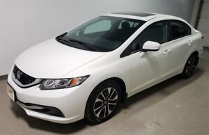 2015 Honda Civic EX | Certified | Remote Start | Camera | Htd Se