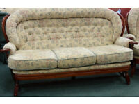 Traditional Ercol Style Spoke Back Sofa