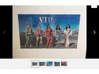 Camilla Cabello signed pic with fifth harmony