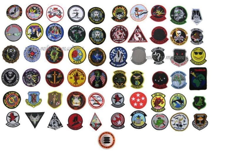 USAF Black Ops Area 51 If I Tell You Paglen Book Collection 61 Patches In All