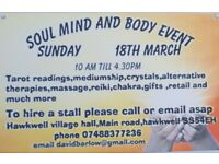 Craft soul body and mind event