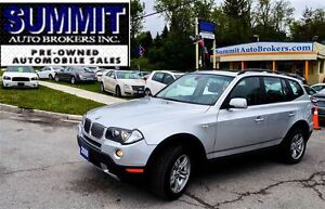 2008 BMW X3 LEATHER   PANO ROOF   HEATED SEATS   BLUETOOTH
