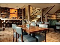 Experienced Waiting and Bar Staff required for immediate start