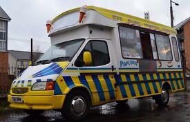Driver Ice Cream Van
