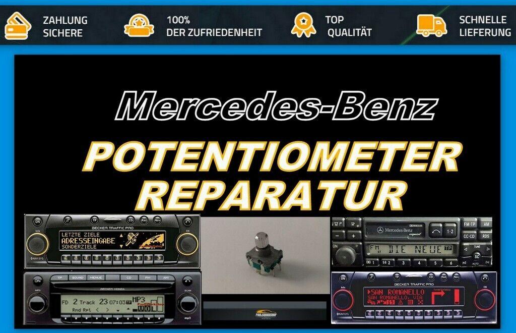 Mercedes Becker Traffic potenciómetro Poti reparación be4720 be7820 be7824 be4740