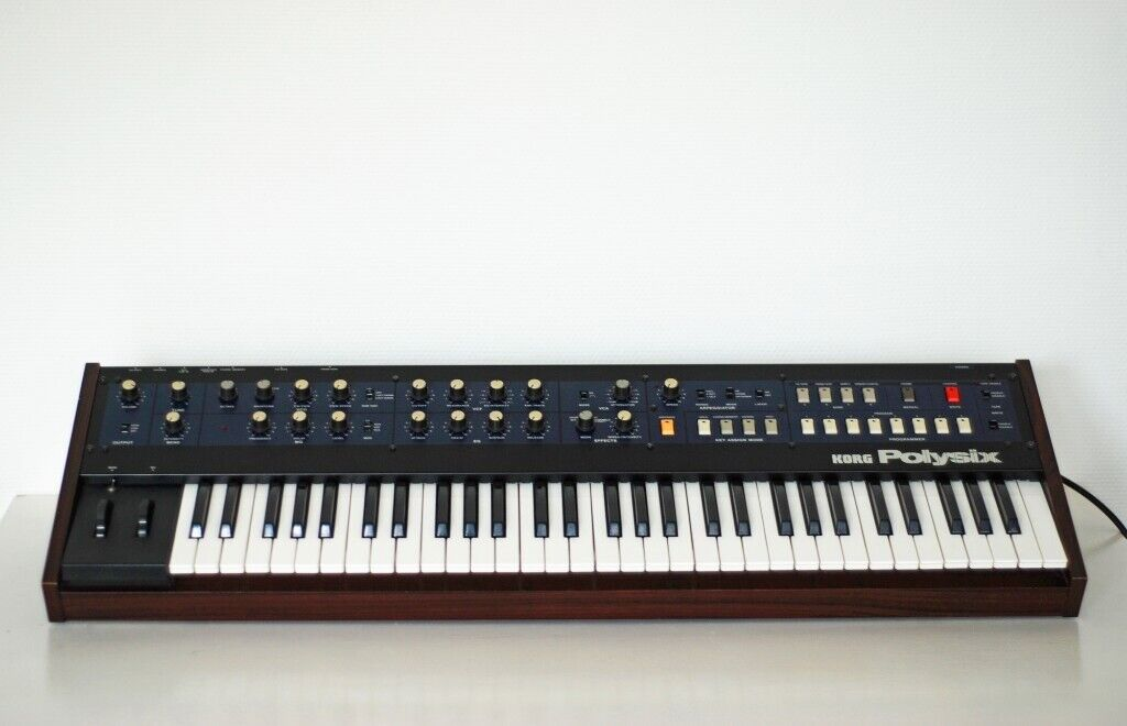 Korg Polysix synthesizer with Kiwisix (best one) midi upgrade  Serviced  recently | in Hove, East Sussex | Gumtree
