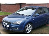 Ford focus 1.6 petrol 58 plate