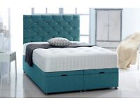 Divan beds and mattresses. Includes headboards. FREE SHIPPING.