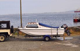 CJR fishing boat.