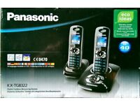 Panasonic x2 cordless home phone