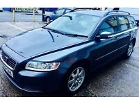 2008 Volvo V50 Diesel Automatic, 1 Year MOT, Volvo Service History, HPI Clear, Excellent Condition