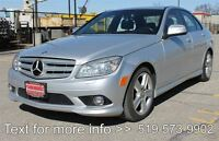 2008 Mercedes-Benz C-Class / C300 / MANUAL . LEATHER . Sunroof -