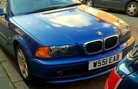 Bmw 318cI coupe 1.9cc low mileage good condition