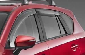 CX5 Slimline Weathershields - new original parts Rockingham Rockingham Area Preview