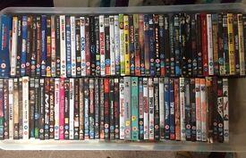 92 x assorted DVDs