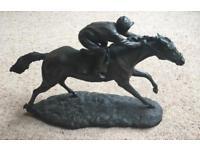 'The Final Furlong' sculpture by BA Ormond
