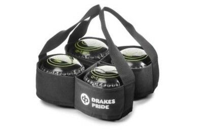 Drakes Pride - Four Bowl Carrier - Black- Bowls Carry Bag