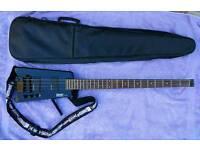 Hohner B2A Headless Bass and Amp